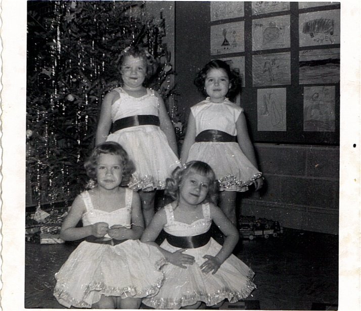 Back row: Dy and BarbieFront row: Trudy and Kathy
