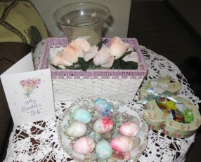 Easter presents for Mom and Dad!