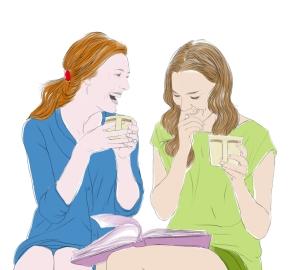 boomer-women-sharing-coffee-conversation