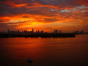 Miami_sunset_3