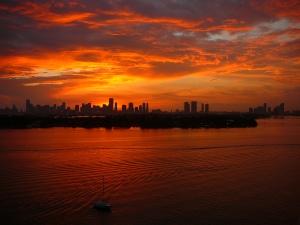 Miami_sunset_3