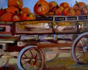 Pumpkin Express by BJ McCloskey